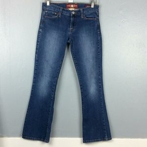 Lucky Brand Sofia Boot Sz 2/26 Ankle Jeans